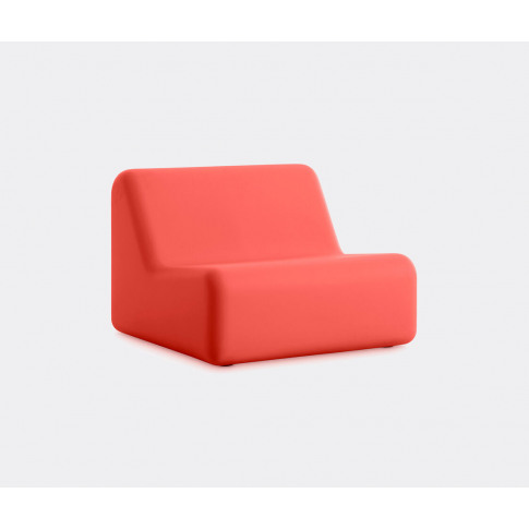 Diabla Seating - '365' Armchair, Red In Red 100% Rec...