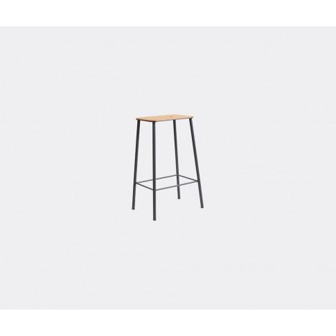 Frama Seating - 'Adam' Stool, M, Oak And Grey In Oak...