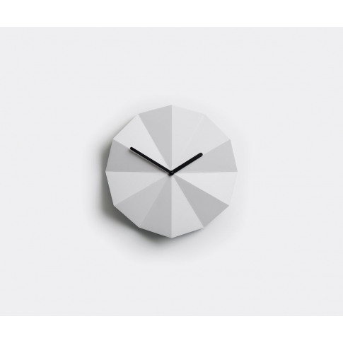 Lawa Design Mirrors And Clocks - 'Delta' Clock, Whit...