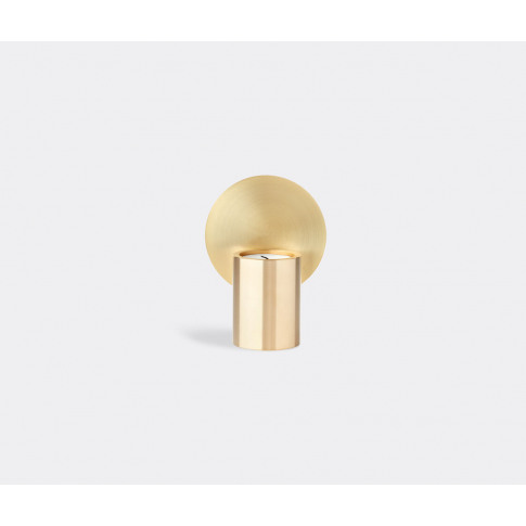 Applicata Candlelight And Scents - 'Glow' Tealight Holder In Brass Solid Brass