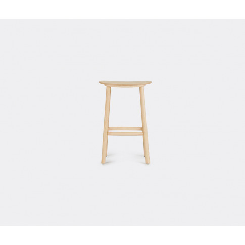 Cruso Furniture - 'Paddle' Stool In Natural Solid Ash