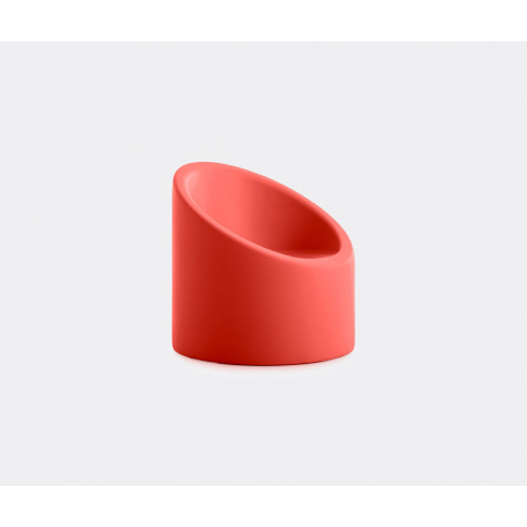 Diabla Seating - 'Lipstick' Armchair, White In Red 1...