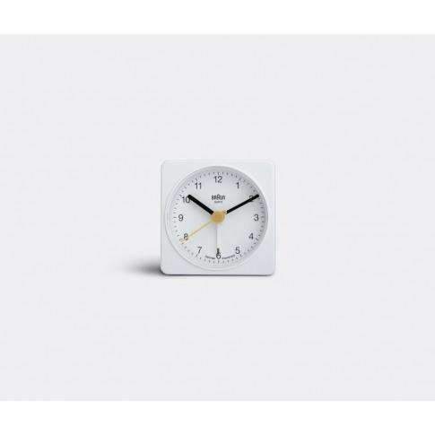 Braun Technology - 'Travel' Alarm Clock In White Pla...