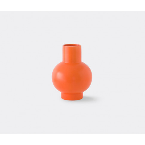 Raawii Vases - 'Strøm' vase, large in Vibrant orange...