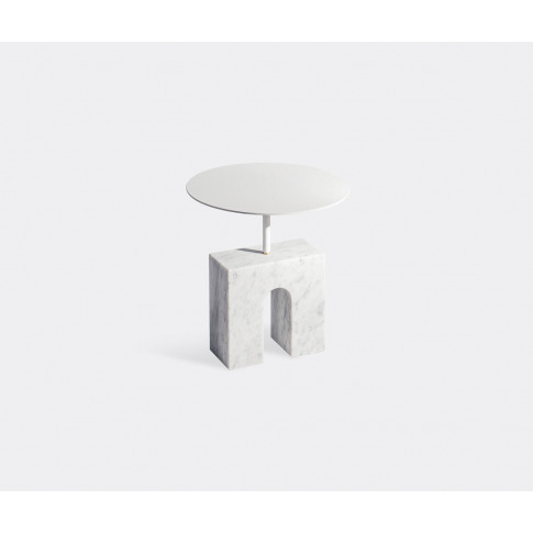 Aparentment Furniture - 'Triumph' Side Table, White ...