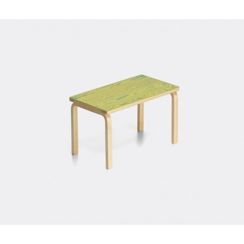 Artek Furniture - 'Bench 153b', Green In Green / Yel...