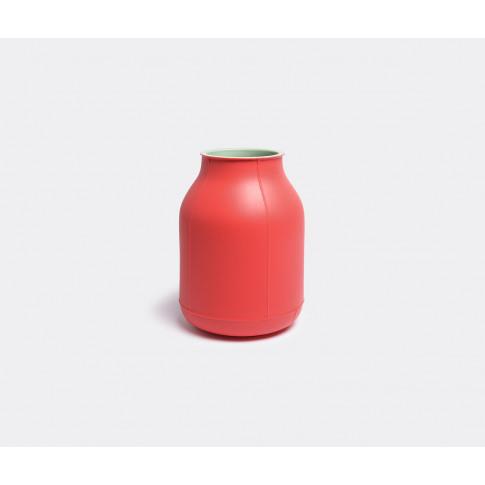 Bitossi Ceramiche Vases - 'Barrel' Vase, Large In Re...