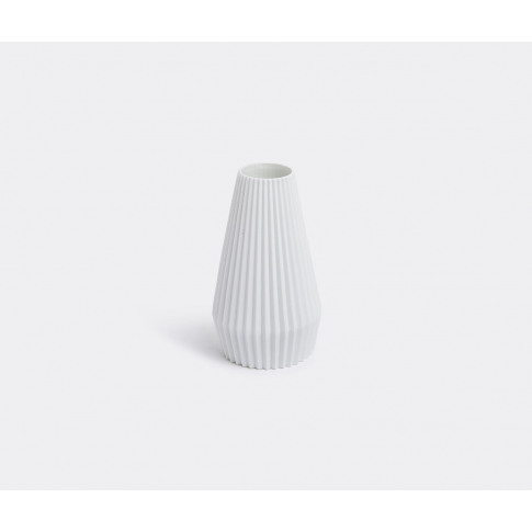 Serax Vases - 'Vase Grint', White In White Porcelain