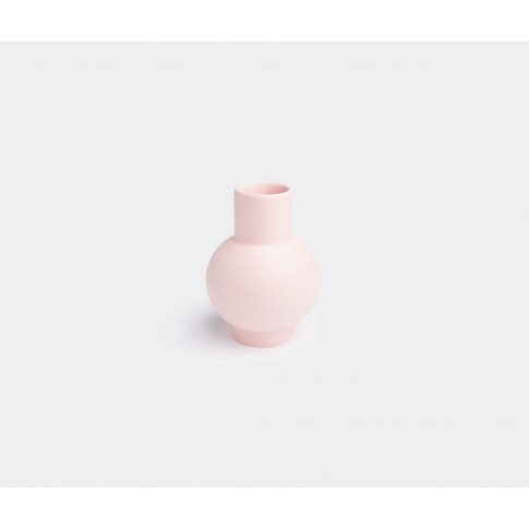 Raawii Vases - 'Strøm' Vase, Small In Coral Blush Fa...