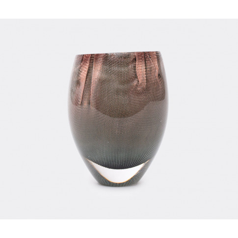 Oao Works Vases - '84.2' Vase, Tall, Grey In Grey Gl...