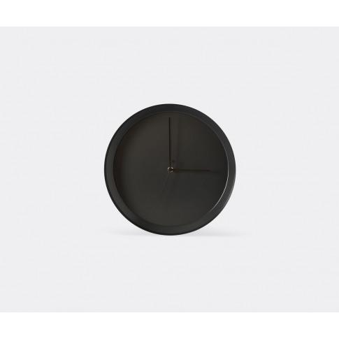 Atipico Mirrors And Clocks - 'Dish' Wall Clock, Blac...