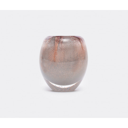 Oao Works Vases - '84.2' Vase, Short, Taupe In Taupe...