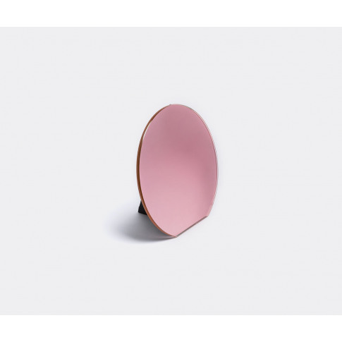 Pulpo Mirrors And Clocks - 'Dita' Table Mirror In Ro...
