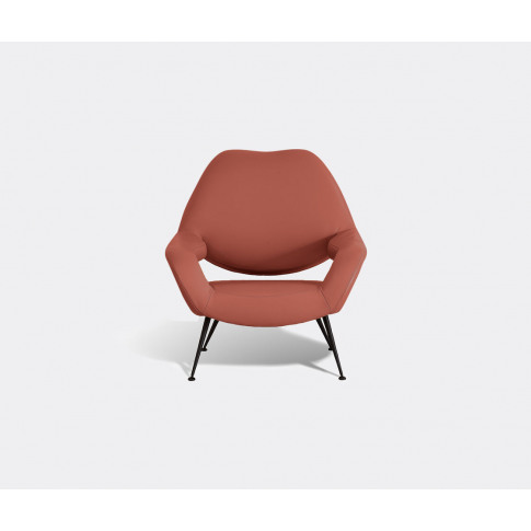 Poltrona Frau Seating - 'Du 55' Armchair In Red Upho...