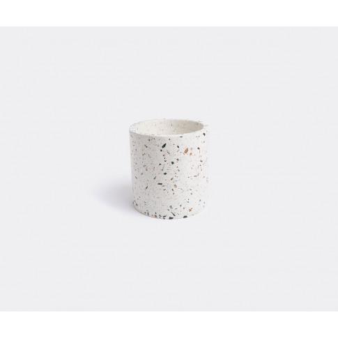 Serax Vases - 'Terrazzo' Pot, Small In White Terrazzo