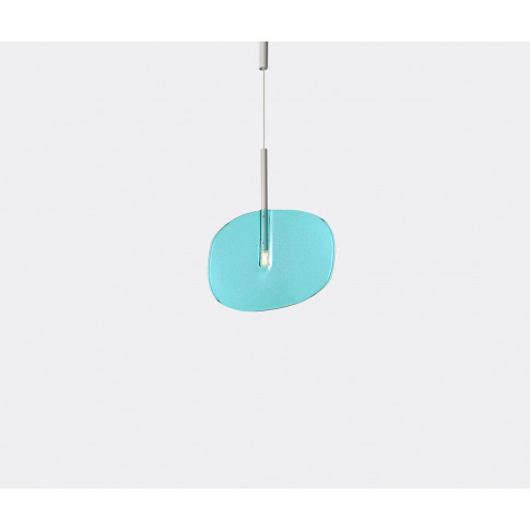 Lasvit Lighting - 'Lollipop' Pendant Light In Turquoise Blue Fused Glass