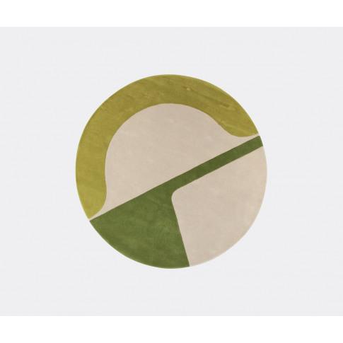 Amini Carpets Textile And Rugs - 'Isola' Rug, Green ...