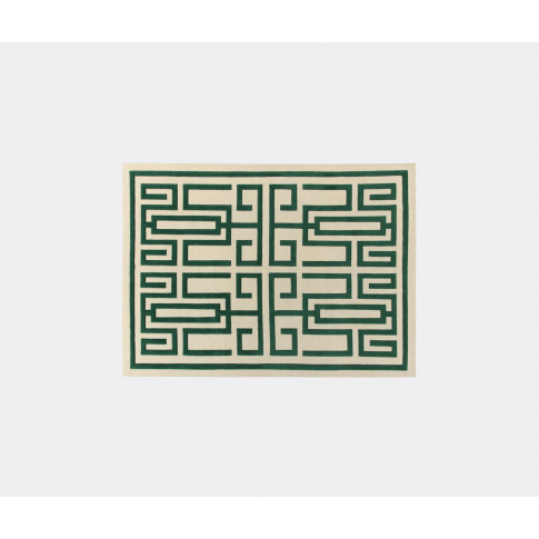 Amini Carpets Rugs - 'Labrinto' Rug, Green In Green ...