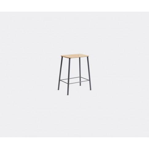 Frama Furniture - 'Adam' Stool, S, Oak And Grey In O...