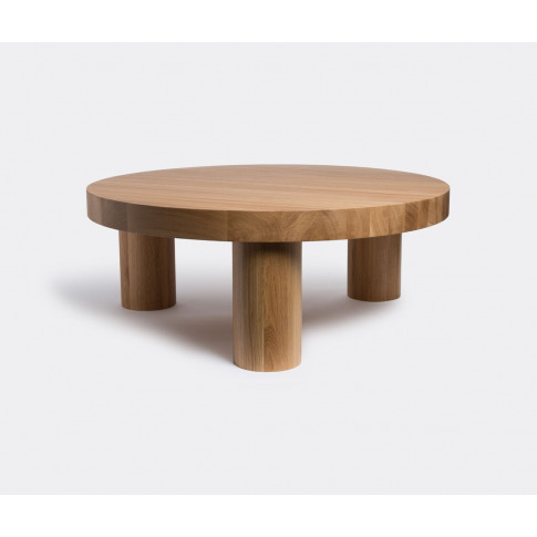 Resident Furniture - 'Offset' coffee table in Natura...