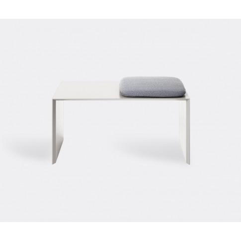 Schönbuch Seating - 'Add On' Bench, Grey In Stone Gr...