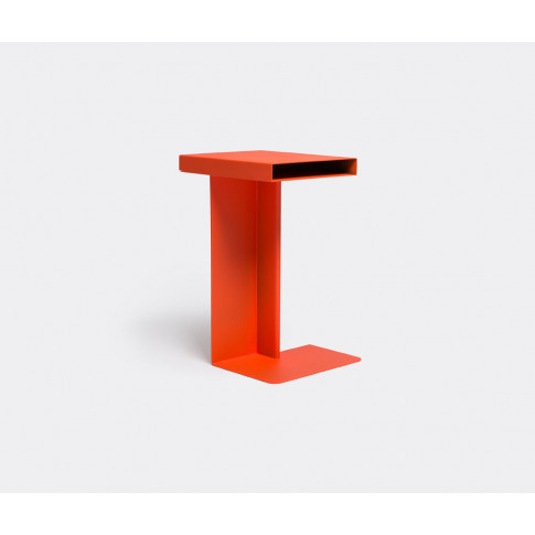 Nomess Furniture - 'Radar' Side Table, Red In Red Po...