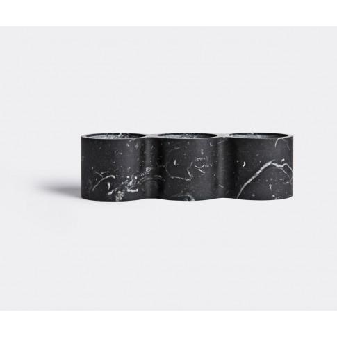 Scandola Marmi Vases - Vase, Small In Black 100% Marble