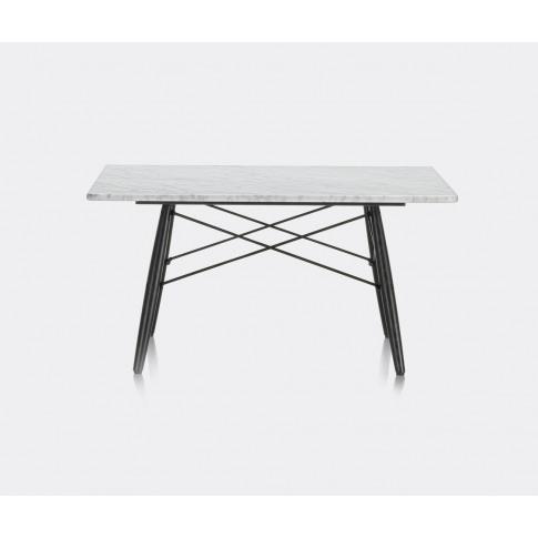 Vitra Furniture - 'Eames Coffee Table' In White, Bla...
