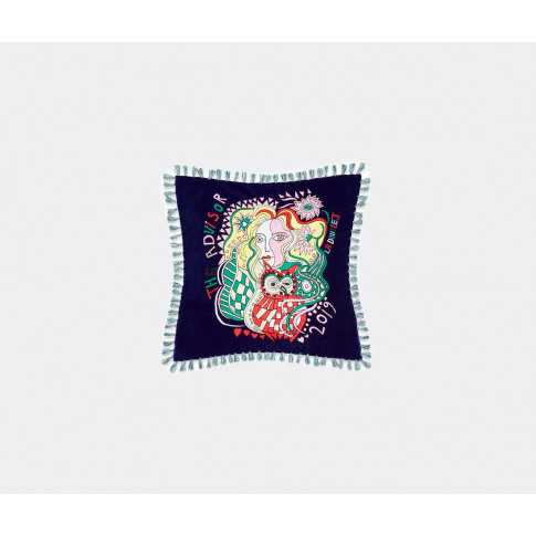 La Doublej Textile And Rugs - 'Athena' Cushion In Mu...
