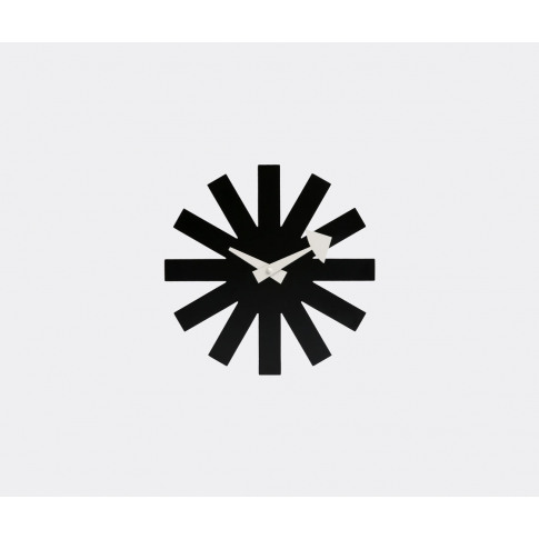 Vitra Mirrors And Clocks - 'Asterisk' Clock, Black I...