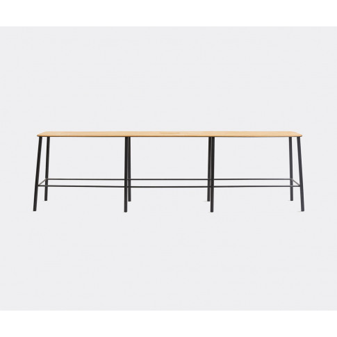 Frama Furniture - 'Adam' Bench, L, Oak And Black In ...