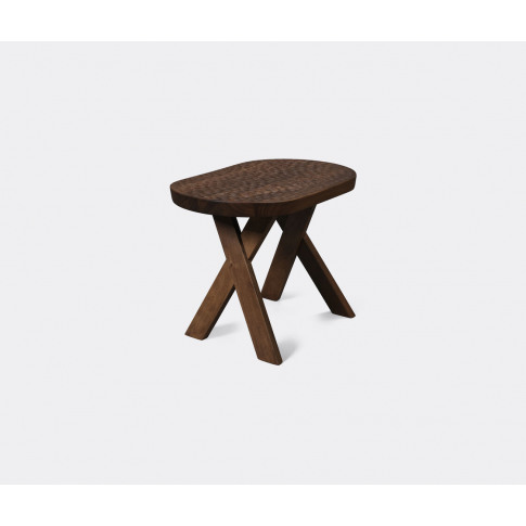 Zanat Seating - 'Touch Pill' Stool, Walnut In Walnut...