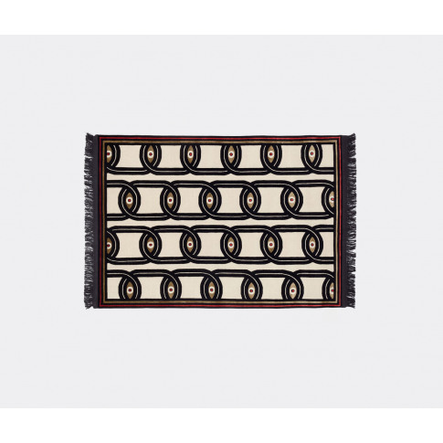 Cc-tapis Textile & Rugs - 'Eyes in Chains' rug in Mu...