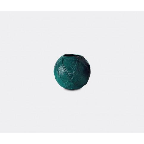 Missonihome Vases - 'Gomitolo' Vase, Small, Petrol I...