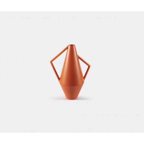 Atipico Vases - 'Koravase', Large, Orange In Deep Or...