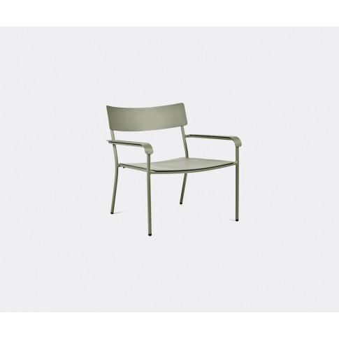Serax Furniture - 'August' Lounge Chair, Light Green...