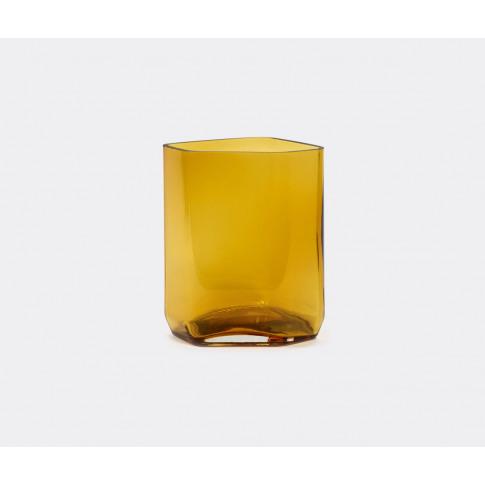 Serax Vases - 'Silex' Vase, M, Yellow In Yellow Glass