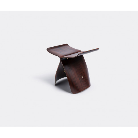 Vitra Furniture - 'Butterfly' Stool In Palisander Wood