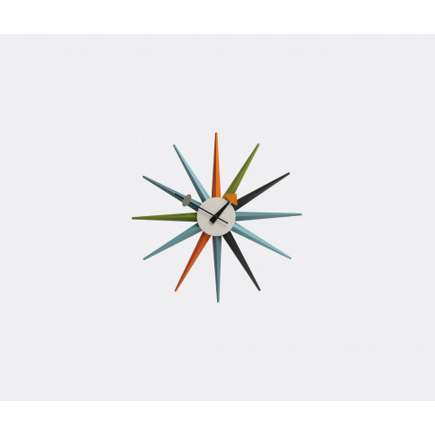Vitra Mirrors And Clocks - 'Sunburst' Clock In Multi...