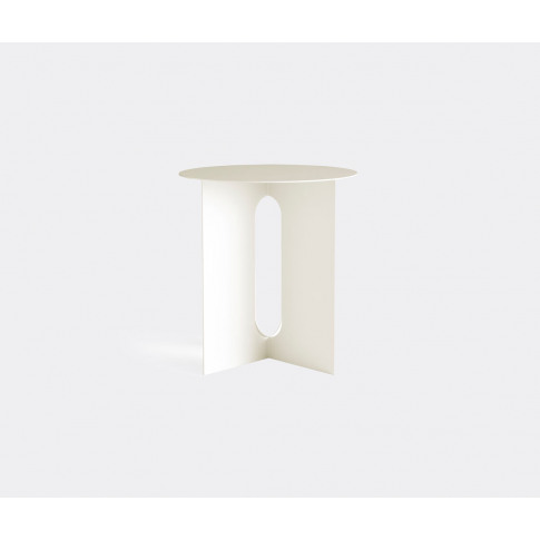 Menu Furniture - 'Androgyne Side Table', Ivory In Wh...