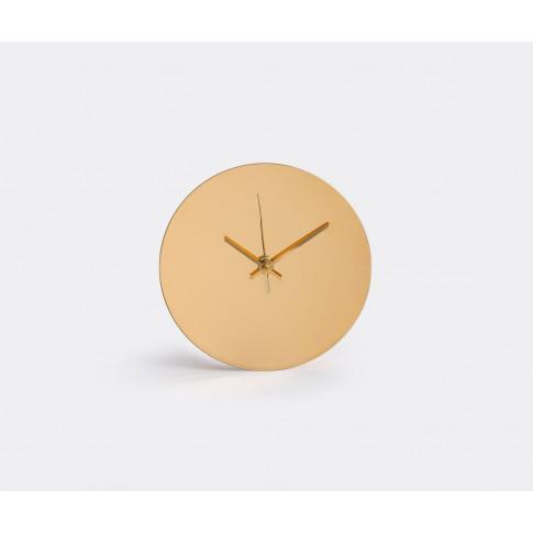 Minimalux Mirrors And Clocks - 'Clock' In Gold 24k G...