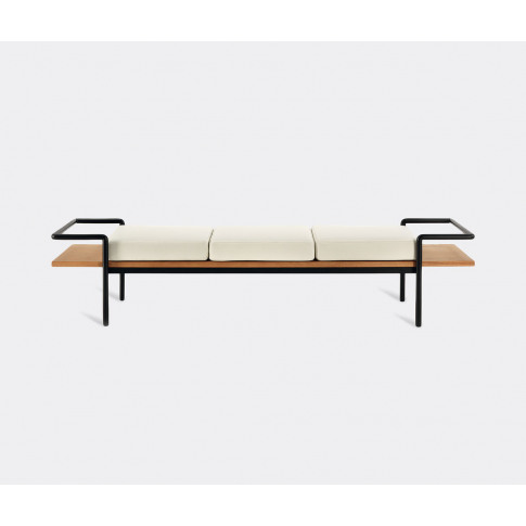 Poltrona Frau Seating - 'T904' Bench In Wood, White ...