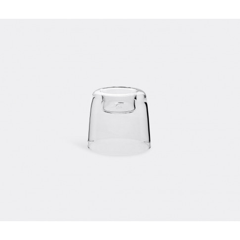 Tg Glassware - Candle Holder, Small In Transparent B...
