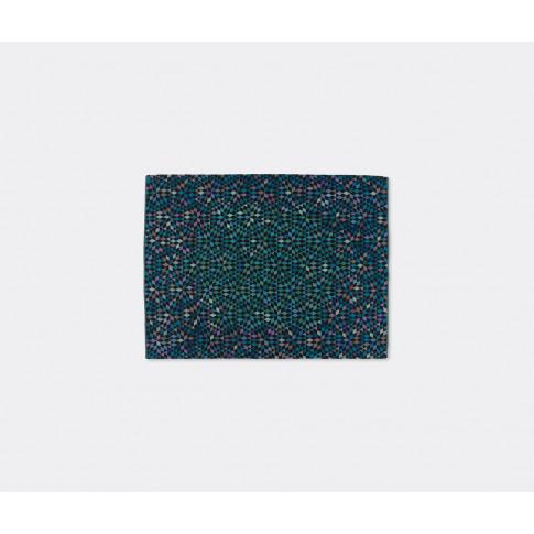 Golran 1898 Textile & Rugs - 'Diamond' medallion blu...