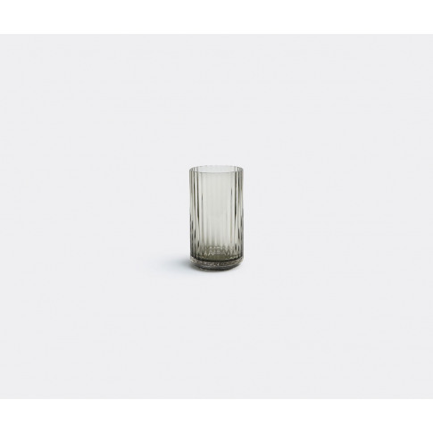 Lyngby Porcelæn Vases - Smoke Glass Vase, Small In G...