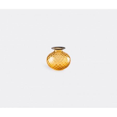 Venini Vases - 'Monofiore' Rounded Bottle, Xs, Yello...