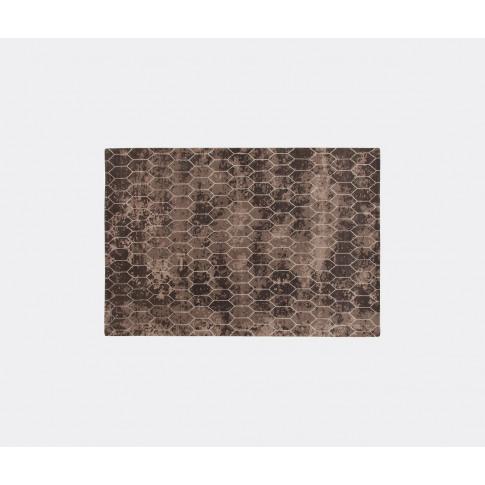 Amini Carpets Rugs - 'Taranto' Rug, Dark Brown In Br...