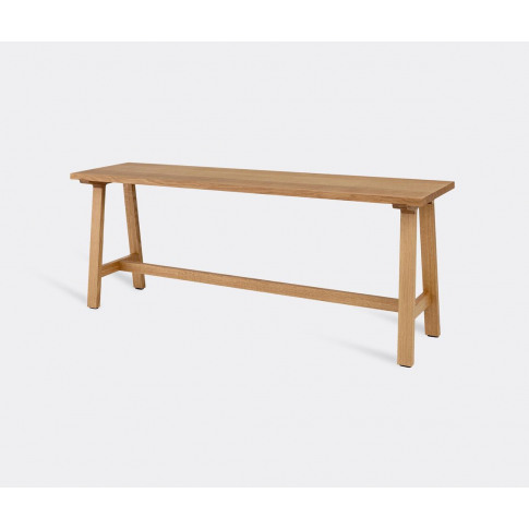 Schönbuch Furniture - Wide 'Alma' Bench, Oak In Oak ...