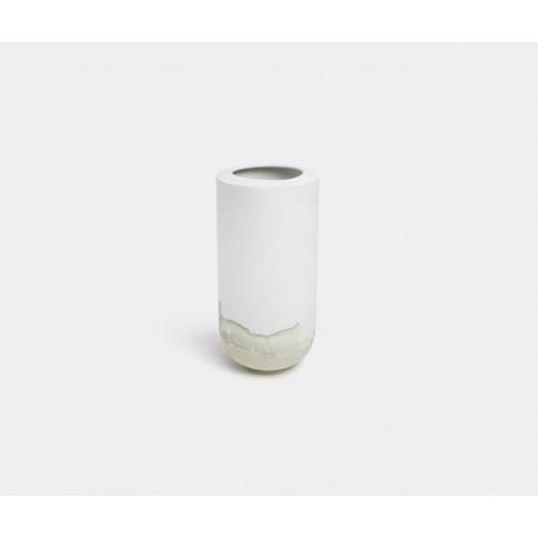 Anna Badur Vases - 'Tide' Vase, Green In Forest Gree...