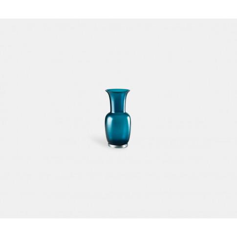 Venini Vases - 'Opalino Satin' Vase, S, Horizon In B...